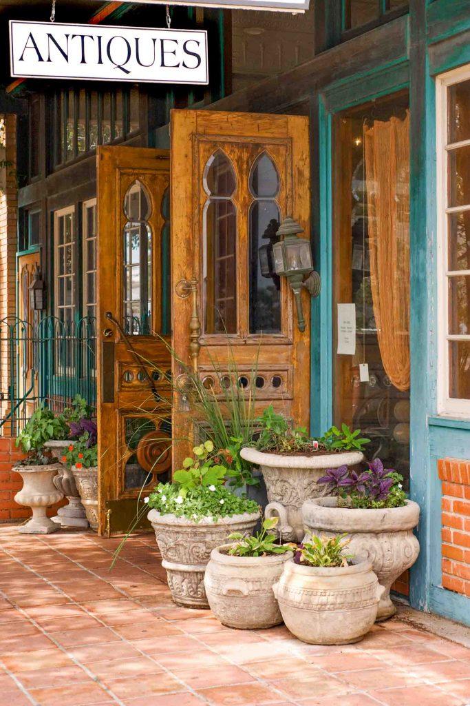 Antique store in Fredericksburg, Texas