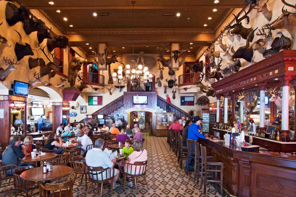 Buckhorn Museum Saloon in San Antonio