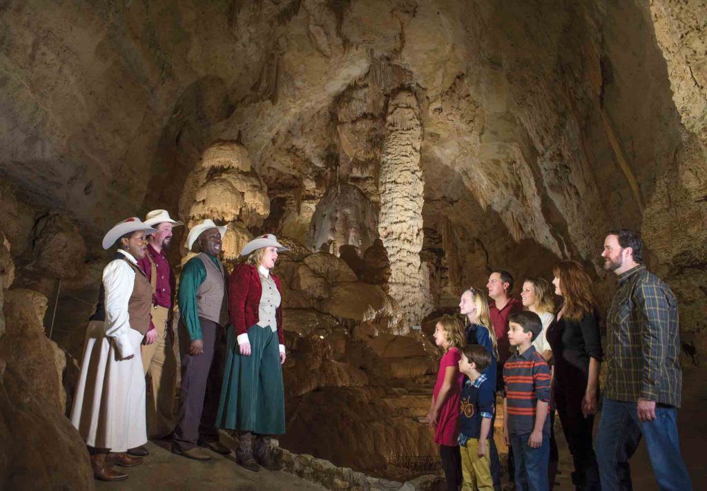 Natural Bridge Caverns during Christmas in San Antonio