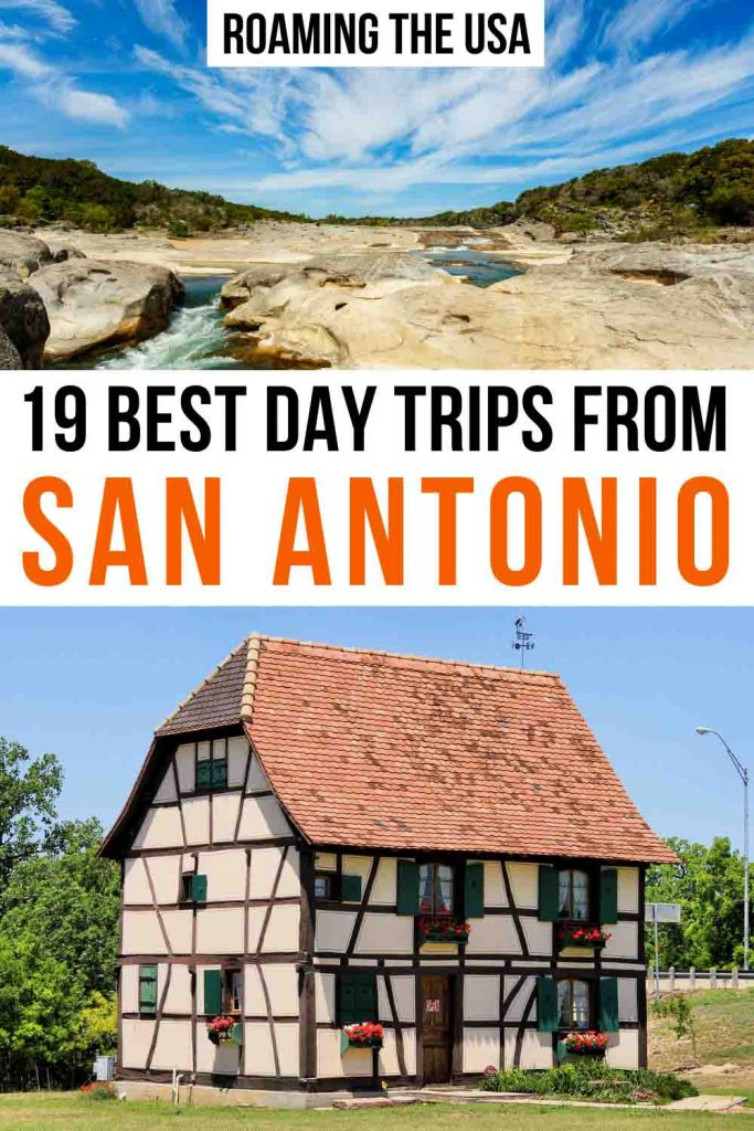 Day trips from San Antonio Pinterest graphic