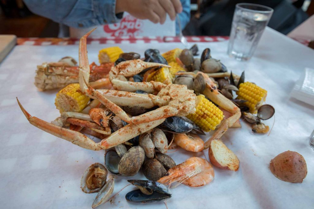 The Crab Pot in Seattle