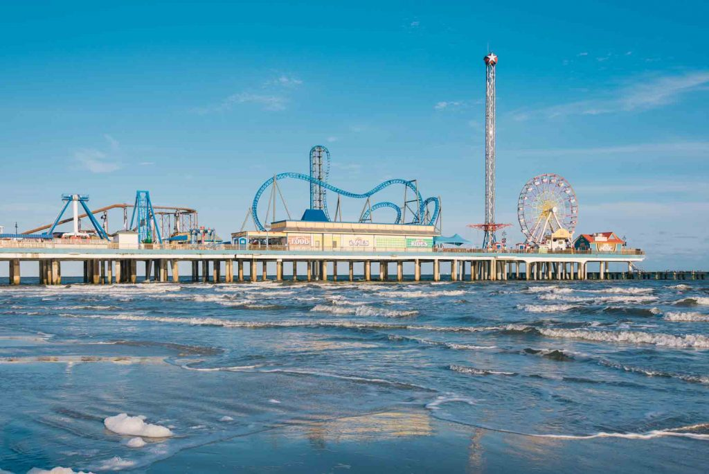 Galveston is one of the cities to visit during Christmas in Texas