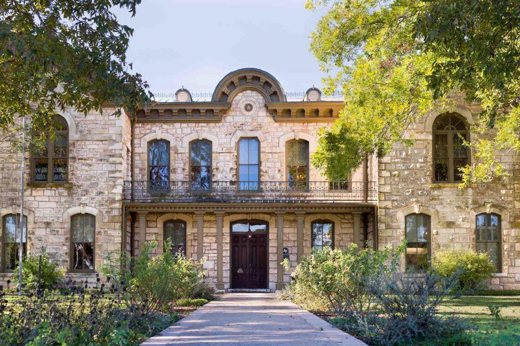 Public library in Fredericksburg, Texas