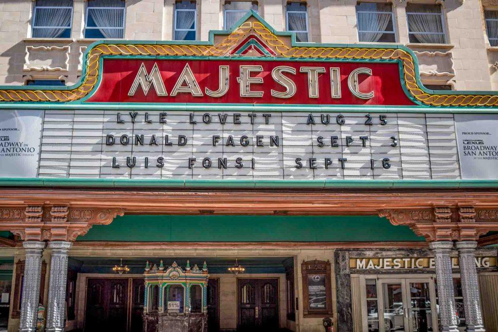 Majestic Theater in San Antonio