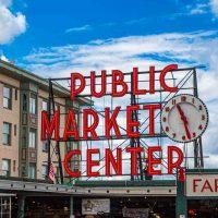 Public Market Center in Seattle