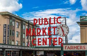 Public Market Center in Seattle