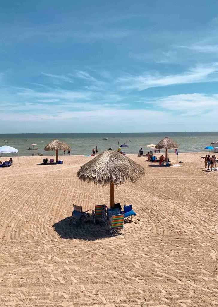 Rockport Beach in Texas