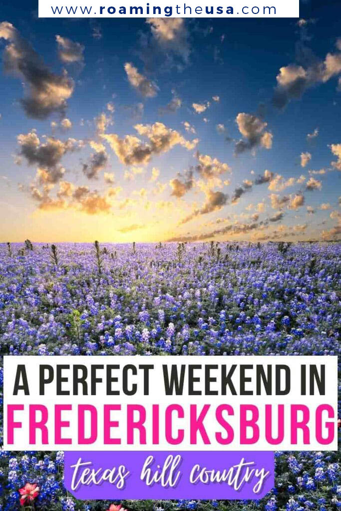 Things to do in Fredericksburg, Texas - Pinterest graphic