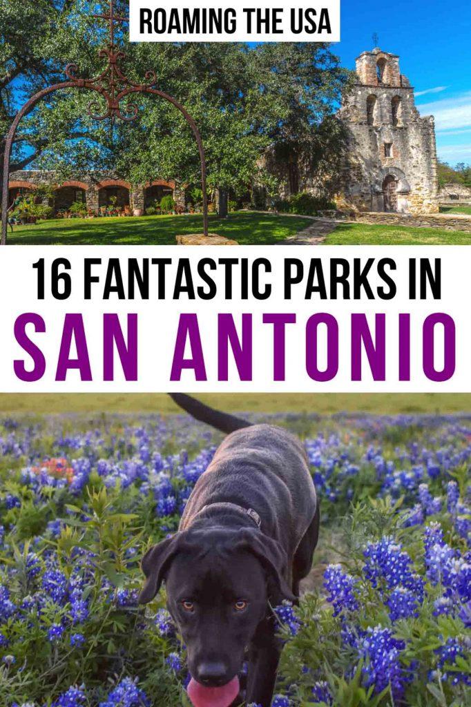 Best Parks in San Antonio- Pinterest Graphic1