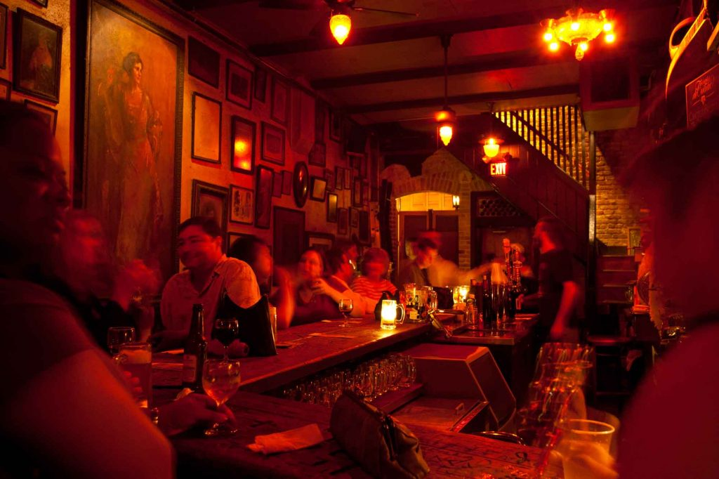 Grabing a Drink at Houston's Oldest Commercial Building is one of the things to do in Houston