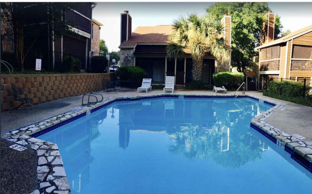 Looking for where to stay in san Antonio? Then check out this Modern Centrally Located Condo With a Pool
