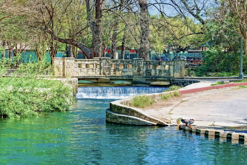 Brackenridge park is one of the best parks in San Antonio, Texas