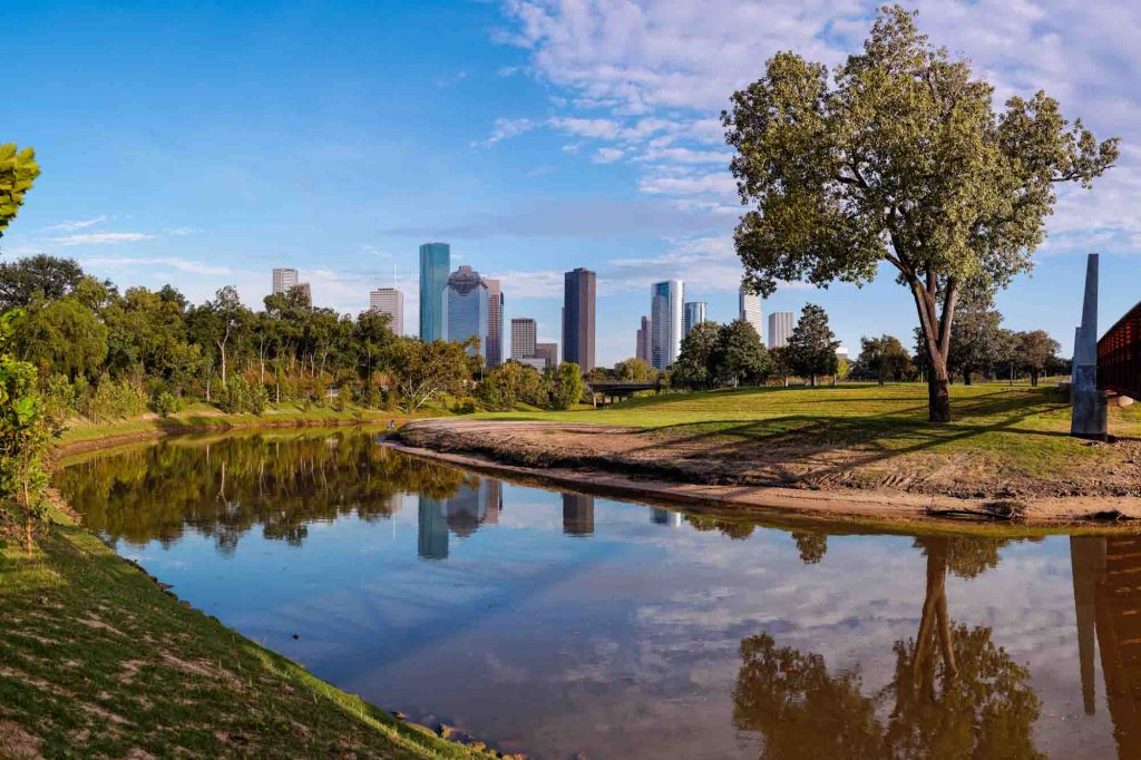 Buffalo Bayou Loop is one of the best hiking trails in Houston