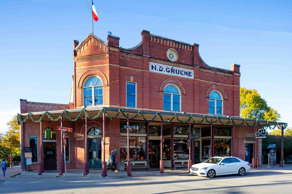Gruene is one of the best day trips from Austin, Texas
