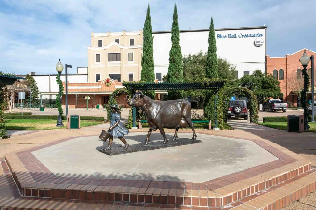 Brenham is another day trip from Austin