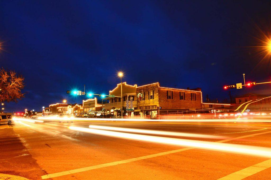 Christmas Lights in Fredericksburg