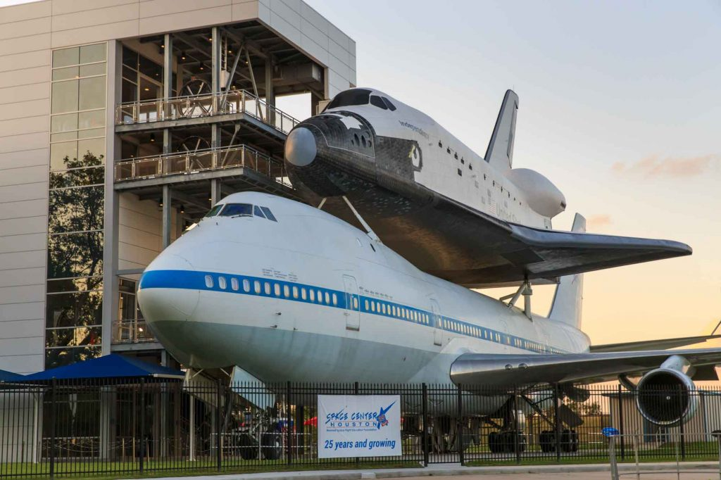 visiting Space Center Houston is one of the best things to do in Houston, Texas