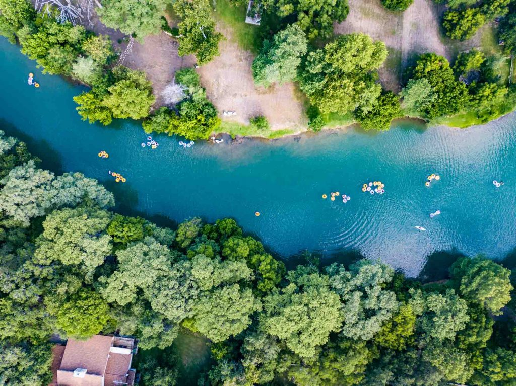Riding a Tube Down the Guadalupe River is one of the top things to do in Canyon Lake, Texas