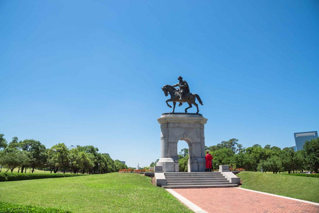 Visiting Hermann park is one of the things to do in Houston, Texas