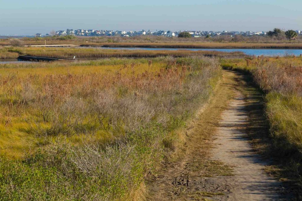 Clapper Rail Trail to Egret Loop to Heron's Walk Trail offers incredible hiking in Houston