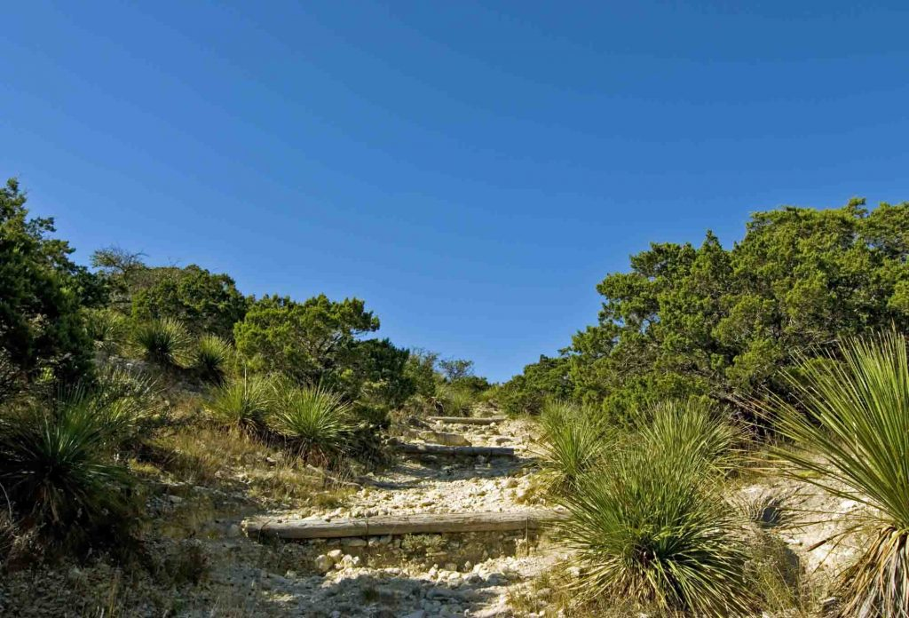 Hill Country State Natural Area has some of the best hiking in San Antonio, Texas