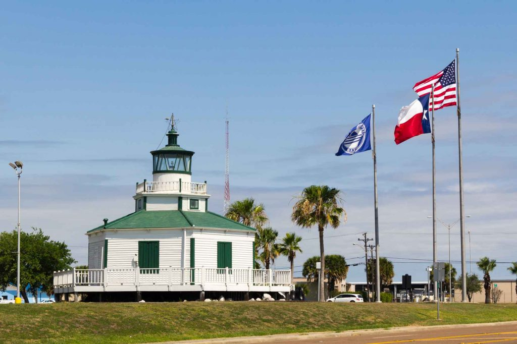 Lighthouse beach is one of the best beaches near Houston