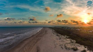 Matagorda Beach is one of the beaches near Houston