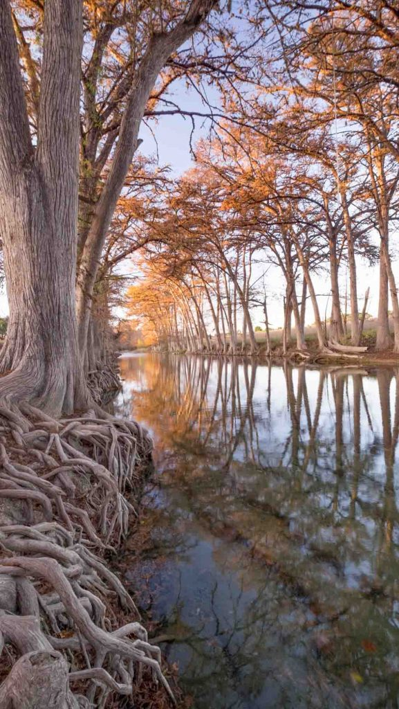 Medina river area offers some of the best hiking in San Antonio, Texas