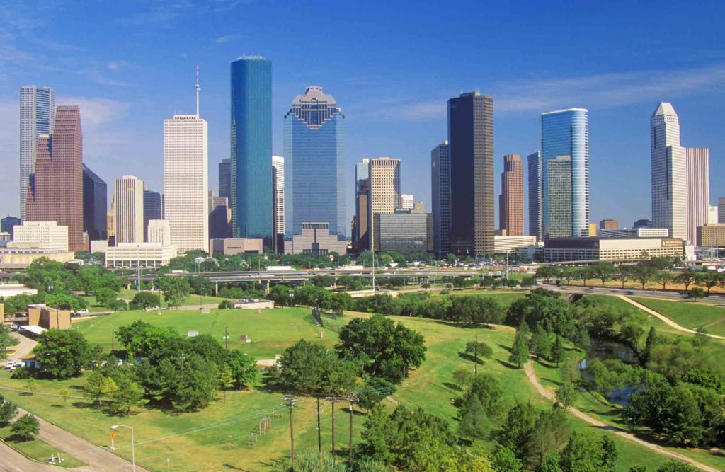 Getting active at the Memorial Park is one of the fun things to do in Houston