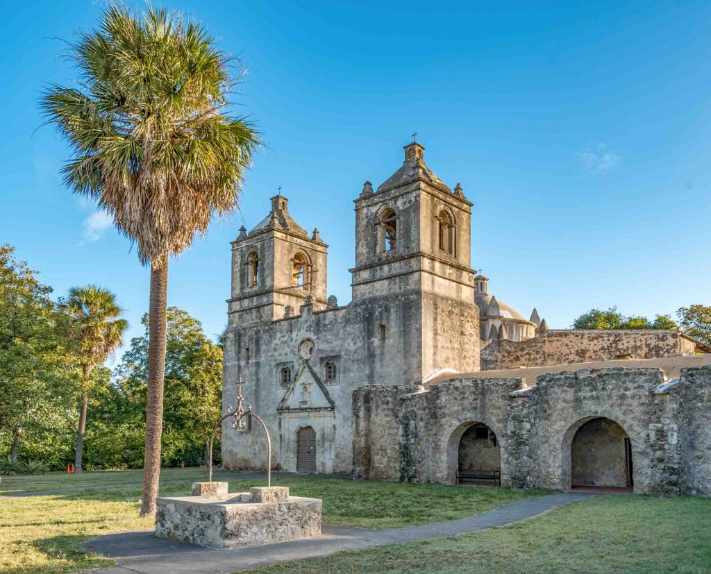 Concepcion Park is one of the best parks in San Antonio, Texas