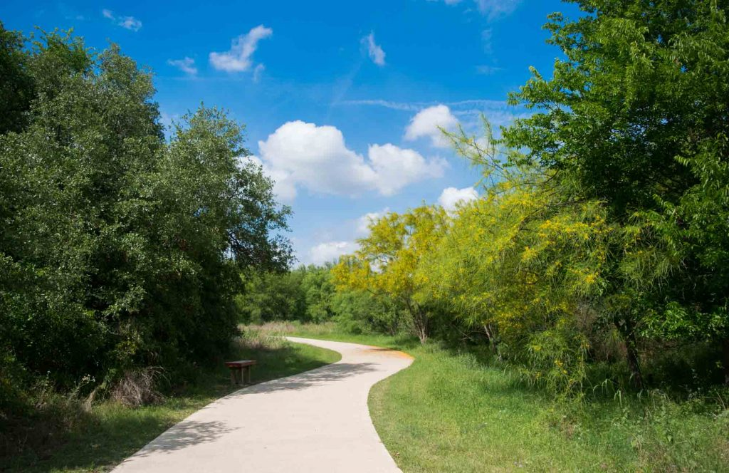 Spring Creek Greenway offers the best hiking in Houston