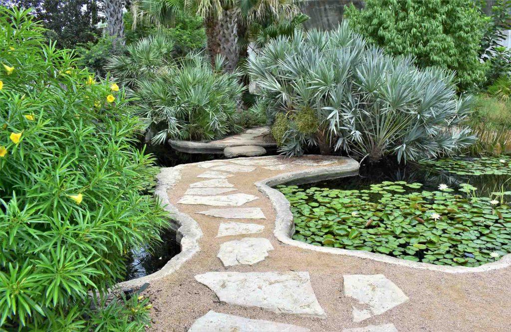 San Antonio Botanical Garden is one of the popular parks in San Antonio, Texas