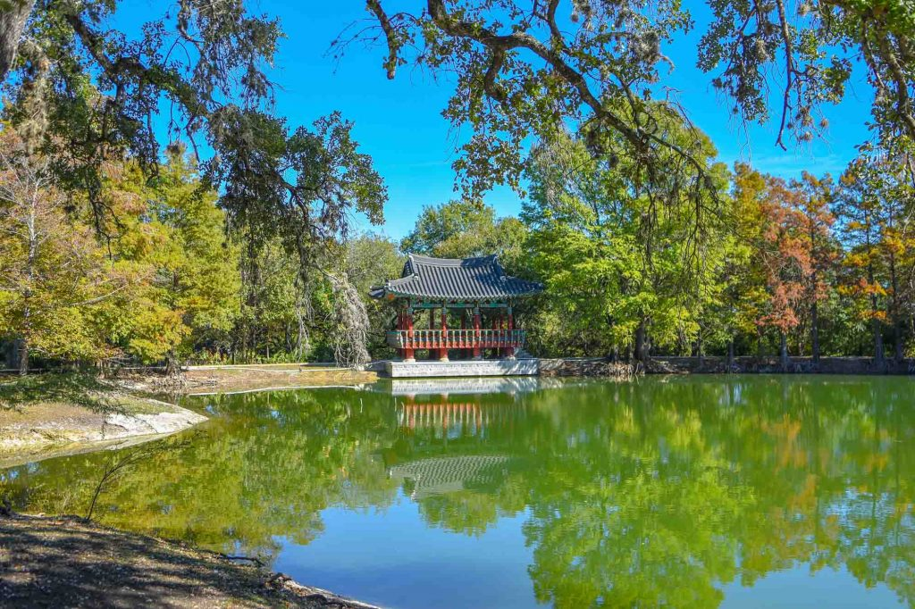 Denman Estate Park is one of the best San Antonio parks.