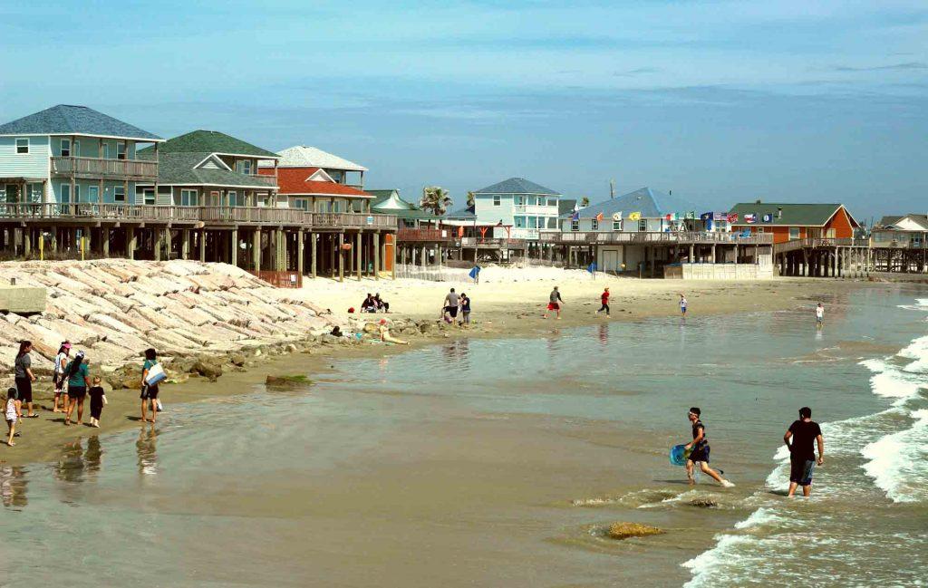 Surfside Beach is one of the best beaches near Houston