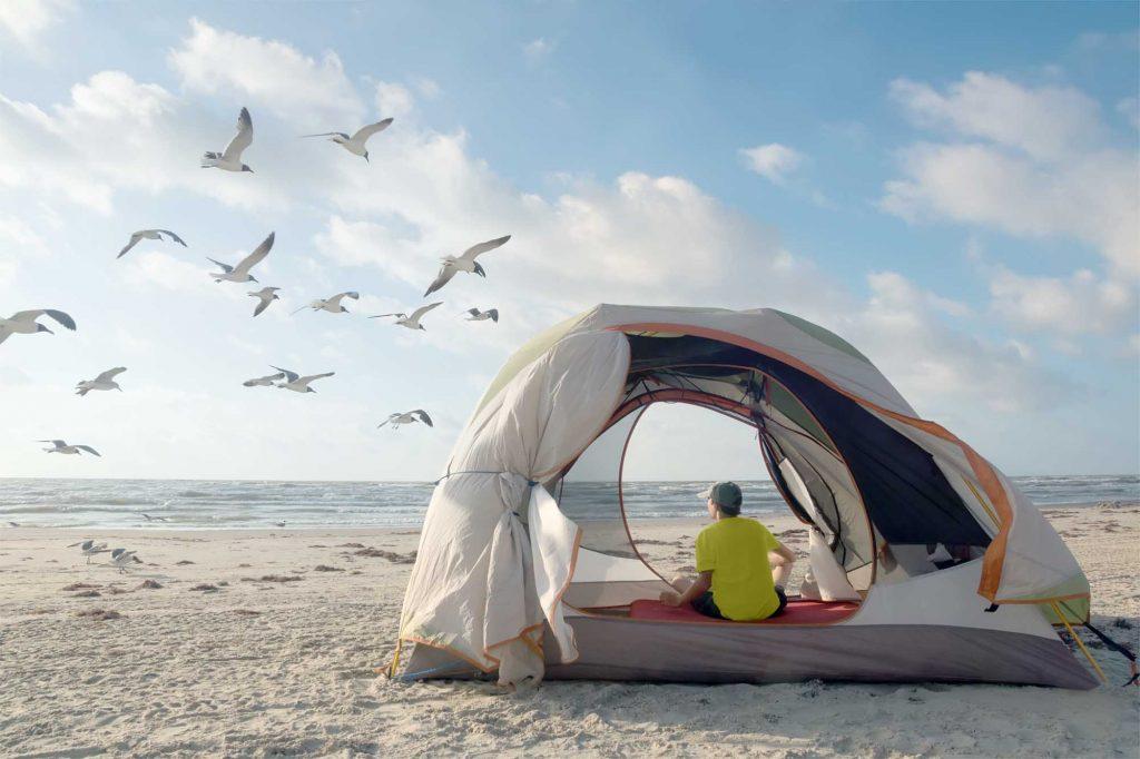 McFaddin Beach is one of the beast beaches near Houston