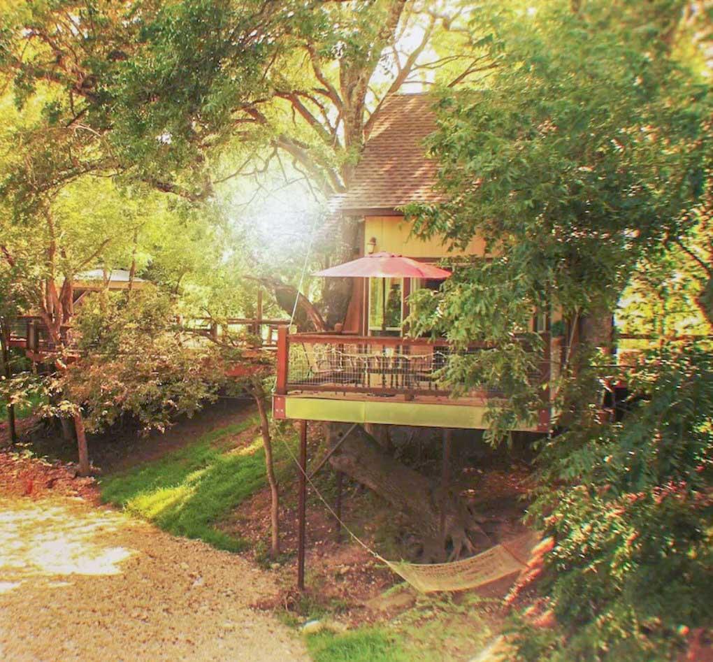 Romantic treehouse in Texas - New Braunfels