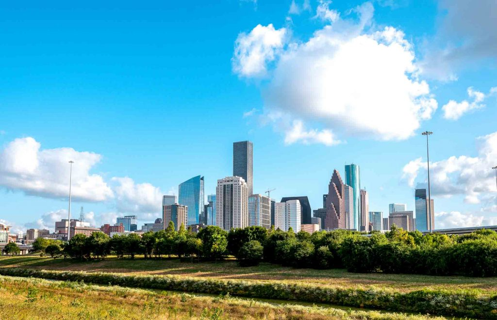 White Oak park has some of the best trails for hiking in Houston