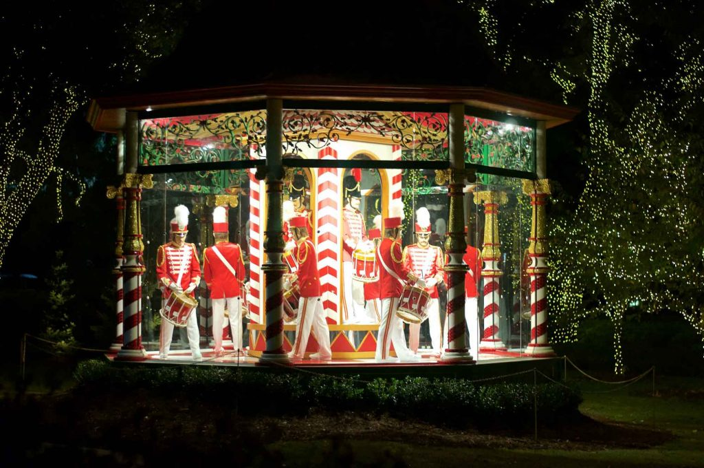 Paying a visit to the North Pole at the Pauline and Austin Neuhoff Christmas Village is one of the best ways to spend Christmas in Dallas