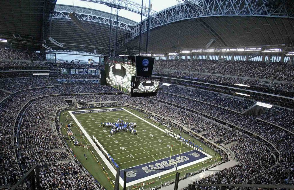 Touring the AT&T Stadium, Home to the Dallas Cowboys is one of the cool things to do in Dallas
