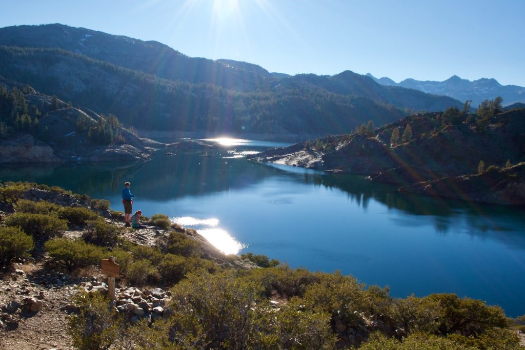 Mammoth Lakes, California is one of the best fall vacations in the USA