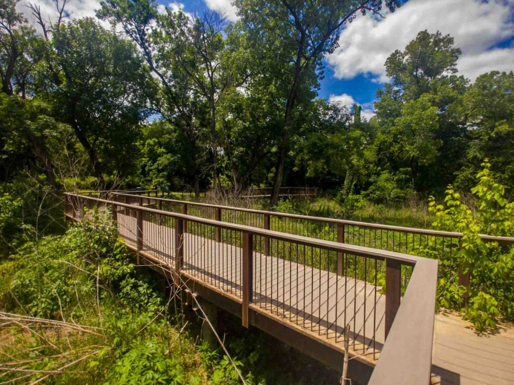 Head to Gateway Park West Loop for the best hiking in Dallas