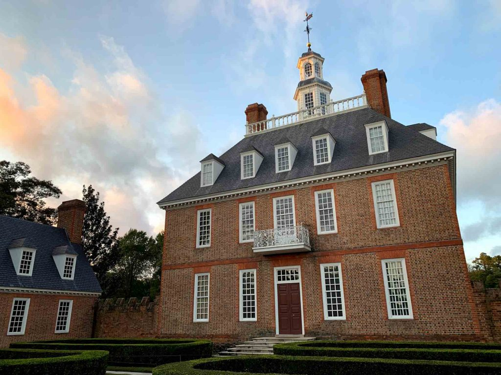 Williamsburg, Virginia is one of the best fall vacations in the USA