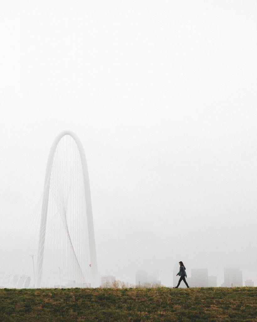 Margaret Hunt Hill Bridge is one of the places to add to your weekend in Dallas itinerary