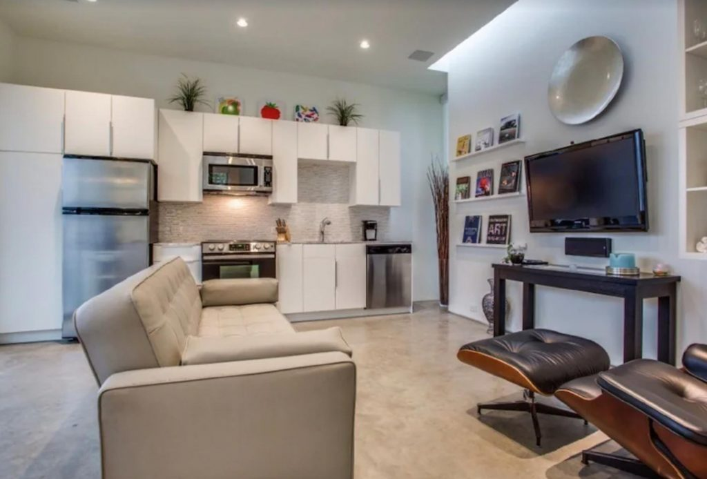 This Modern Dog-Friendly Apartment in Uptown is one of the best vrbo in Dallas