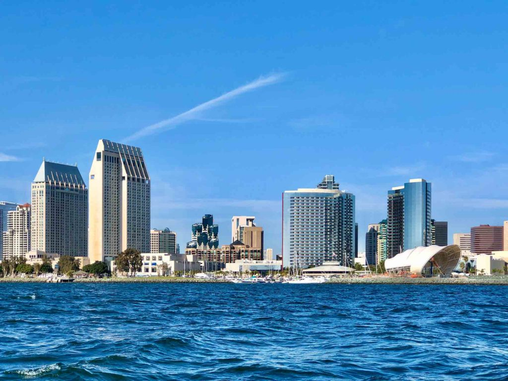 San Diego, California is one of the fall vacations in the USA