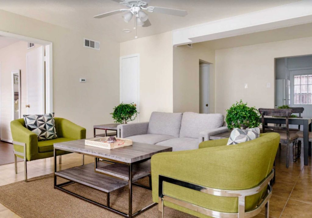 This Stylish Pad with Patio and Trail Access is one of the best vrbo in Dallas, Tx