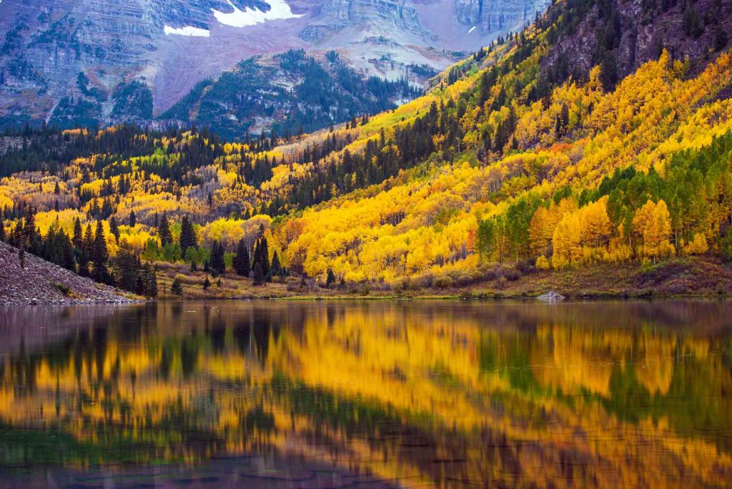 Aspen, Colorado is one of the most romantic getaways in the United States