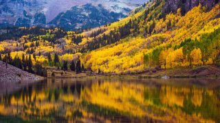 Aspen, Colorado is one of the best fall vacations in the USA