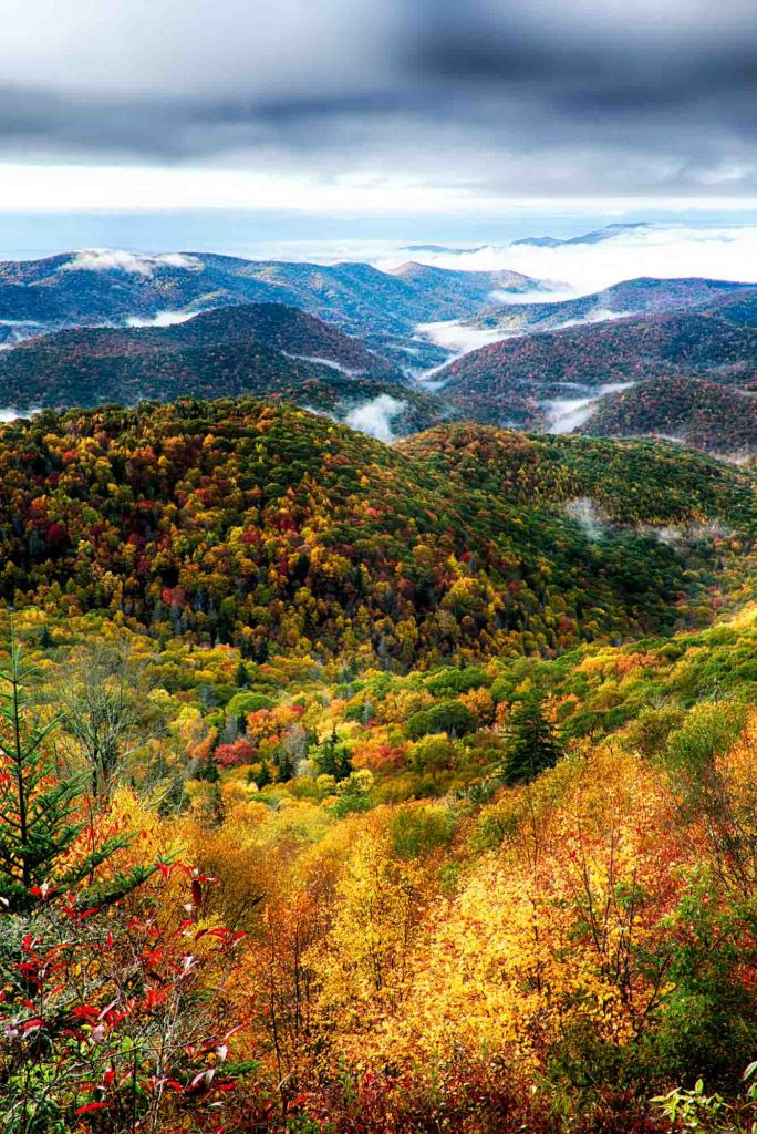 Asheville, North Carolina is one of the best fall vacations in the USA