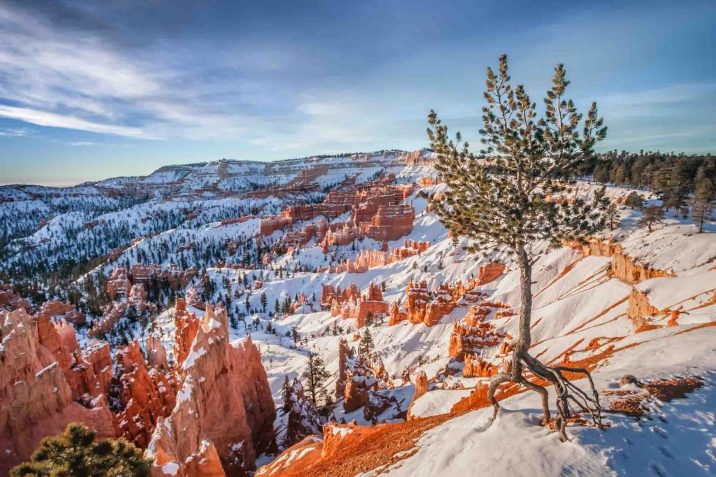 Bryce Canyon National Park, Utah is one of the best winter vacations in the US